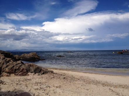 南フランスのビーチ
